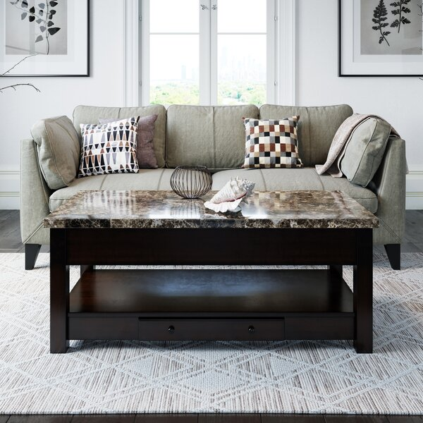 Alexo Lift Top Coffee Table With Storage By Winston Porter