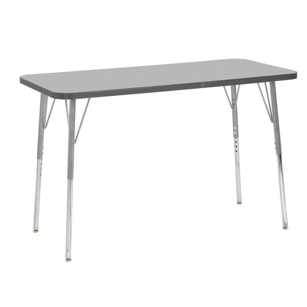 Contour Thermo-Fused Adjustable 24 x 48 Rectangular Activity Table by ECR4kids