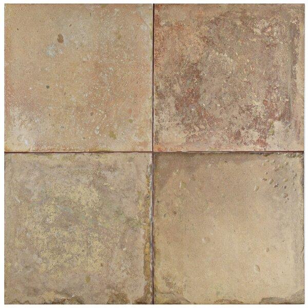 Tartesso 17.63 x 17.63 Ceramic Field Tile in Brown/Beige by EliteTile