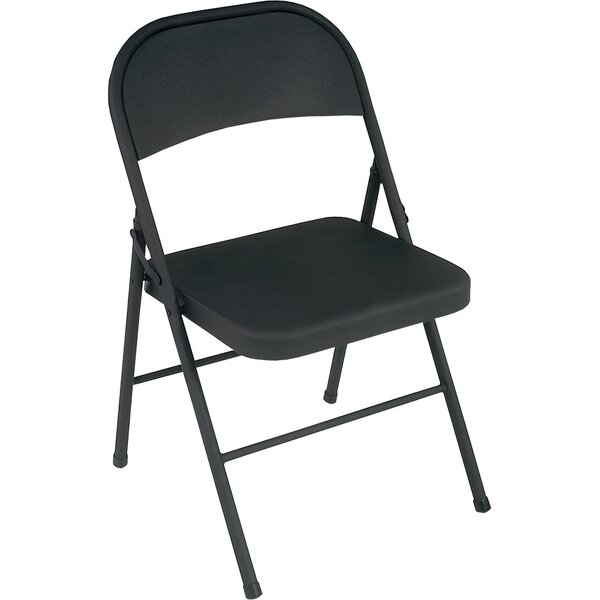 Folding Chair (Set of 4) by Cosco Home and Office