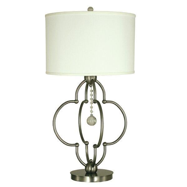 Quatrefoil 30 Table Lamp by Thumprints