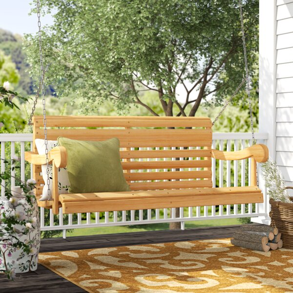 Silvia Porch Swing by Andover Mills Andover Mills