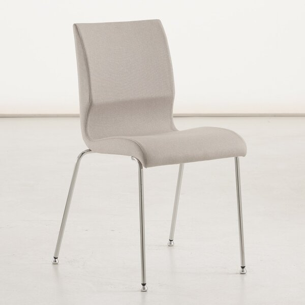 Jolie Genuine Leather Upholstered Dining Chair by YumanMod
