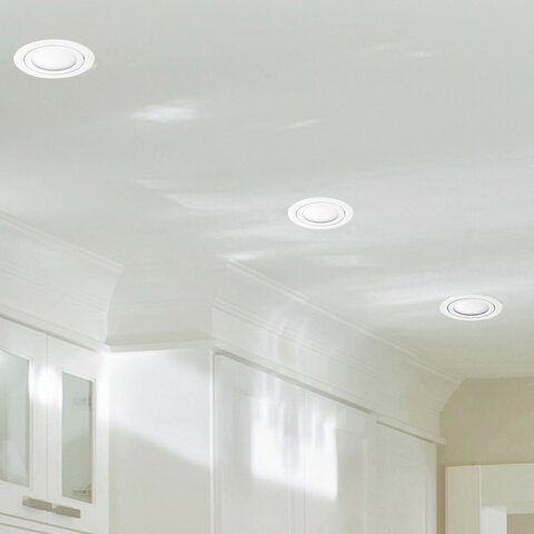 4 Recessed Lighting Kit (Set of 4) by Globe Electric Company