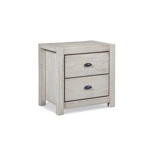 Montauk 2 Drawer Nightstand Grain Wood Furniture