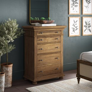 Asherton 5 Drawer Chest By Greyleigh