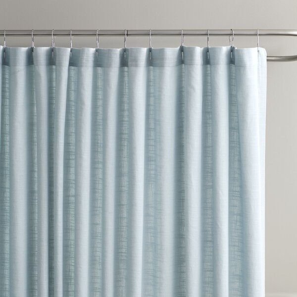 Amanda Cotton Shower Curtain by Birch Lane™