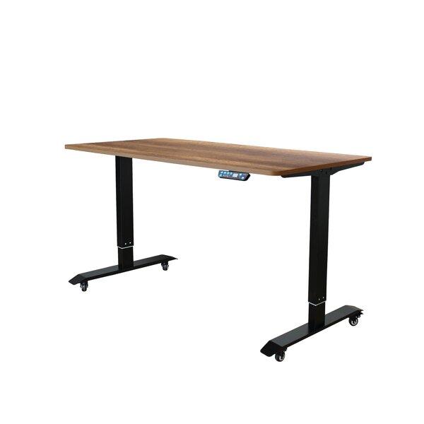 Lesure Electric Standing Desk Converter by Symple Stuff