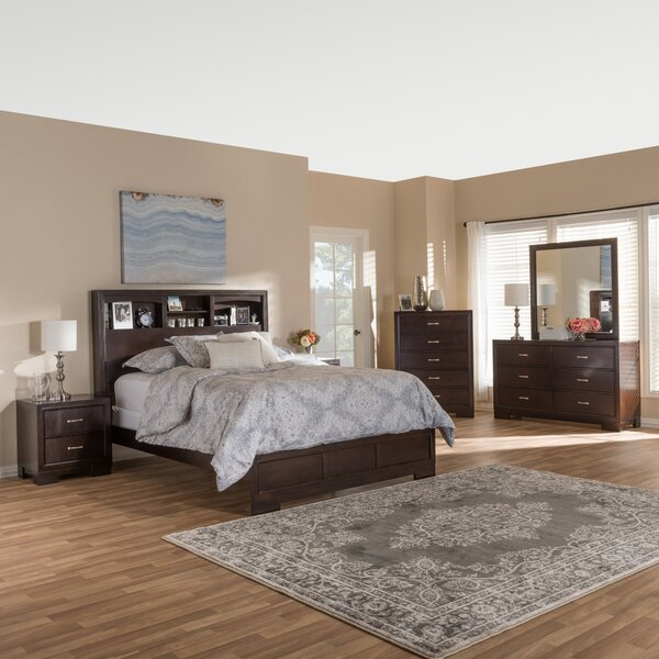 Millbrook Queen Platform 6 Piece Bedroom Set by Alcott Hill
