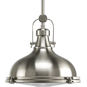 Freeda 1-Light Schoolhouse Pendant