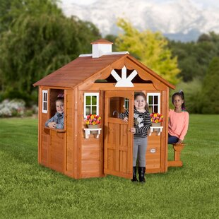 Kids Log Cabin Play House Wayfair