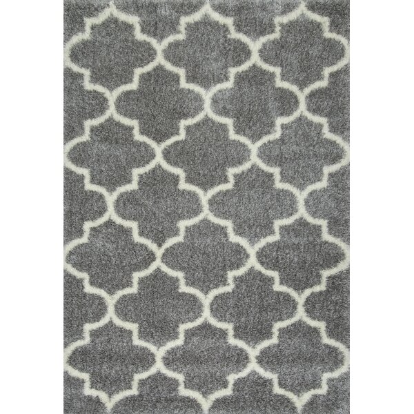 Zalacain Gray Area Rug by nuLOOM