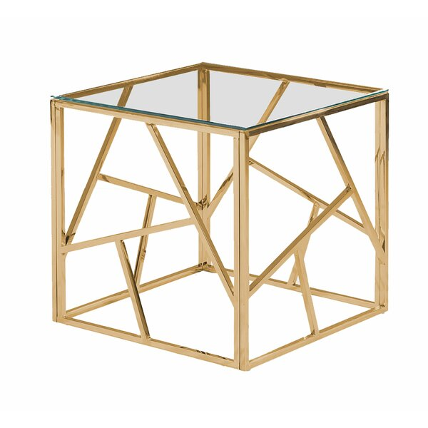 Mcquiston Angled End Table by Orren Ellis