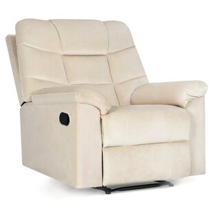 Ducharme Contemporary Padded Manual Recliner Winston Porter