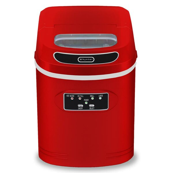 27 lb. Daily Production Portable Ice Maker by Whyn
