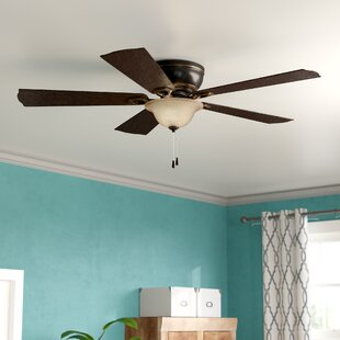 Reviews 52 Espinosa 5 Blade LED Ceiling Fan By Winston Porter