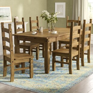 Dining Table Sets Kitchen Table Chairs Wayfaircouk - Wooden dining room table with 6 chairs