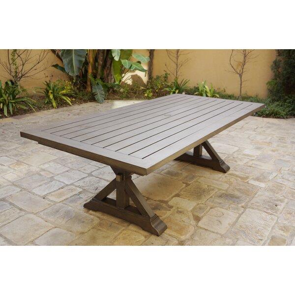 Montserrat Metal  Dining Table By Gracie Oaks by Gracie Oaks Best