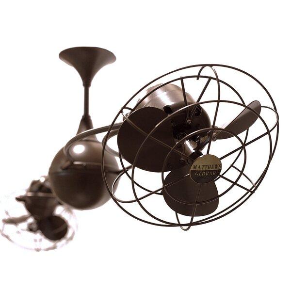 53 Italo Ventania 6 Blade Ceiling Fan by Matthews Fan Company