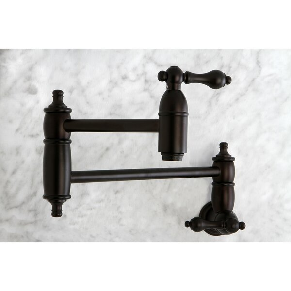 Restoration Kitchen Pot Filler by Kingston Brass
