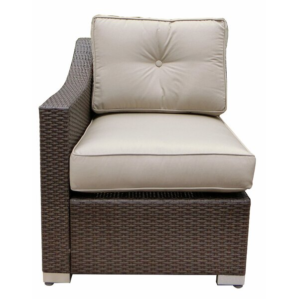Tampa Right Arm Single Chair with Cushion by World Wide Wicker