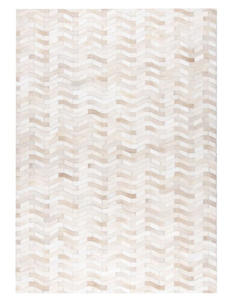 Algedi Hand woven White Area Rug by M.A. Trading
