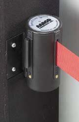 Form-A-Line System Wall Mounted Retractable Belt by AARCO