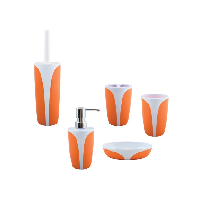 Anastaisa 5 Piece Bathroom Accessory Set