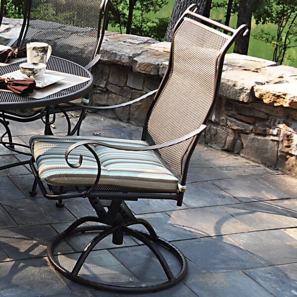 Alexandria Swivel Patio Dining Chair By Meadowcraft