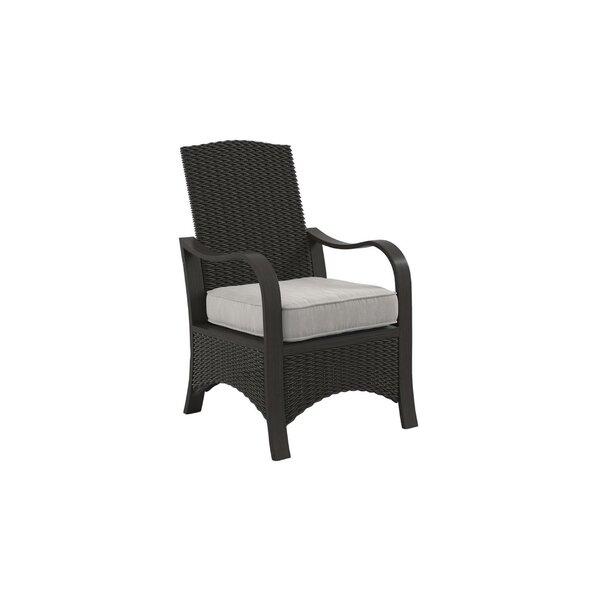 Oktaha Patio Chair with Cushions (Set of 2) by Latitude Run