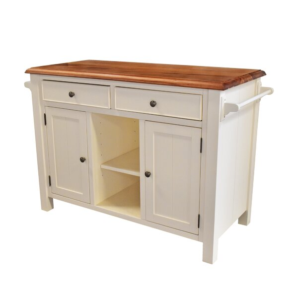 Hearn Kitchen Island by Gracie Oaks