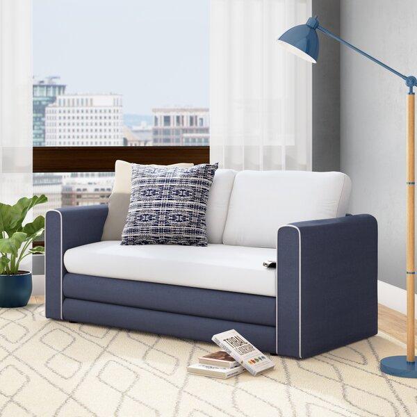Hertfordshire Sleeper Loveseat By Ebern Designs Today Sale Only
