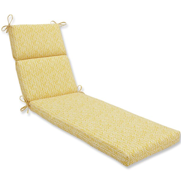 Indoor/Outdoor Chaise Lounge Cushion by George Oliver