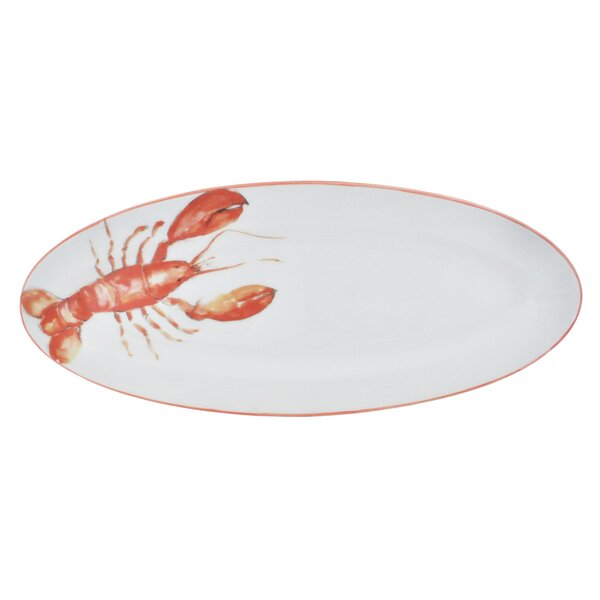 Lobster Long Oval Platter by Abbiamo Tutto