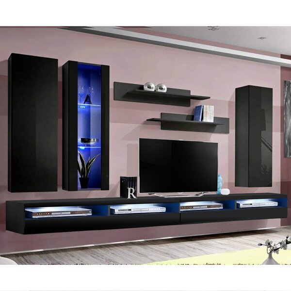 FLYEF4 Floating Entertainment Center For TVs Up To 70