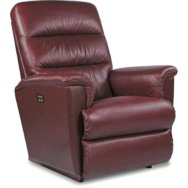 Tripoli Leather Power Wall Hugger Recliner by La-Z