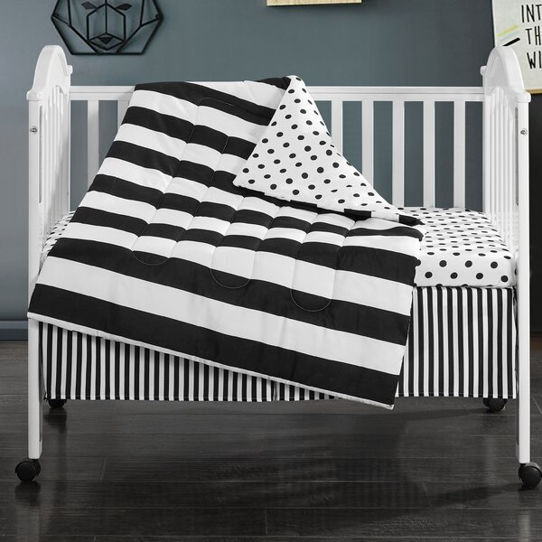 Brianna 3 Piece Crib Bedding Set by Harriet Bee