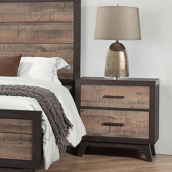 Neoma 2 Drawer Nightstand by Foundry Select