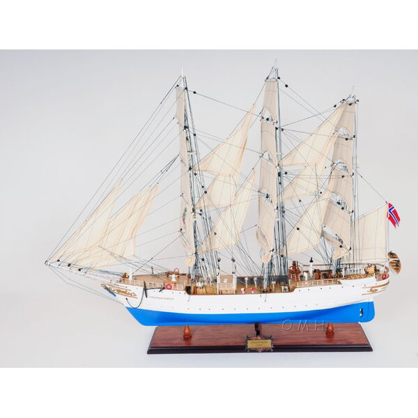 Christian Radich Model Ship by Old Modern Handicrafts