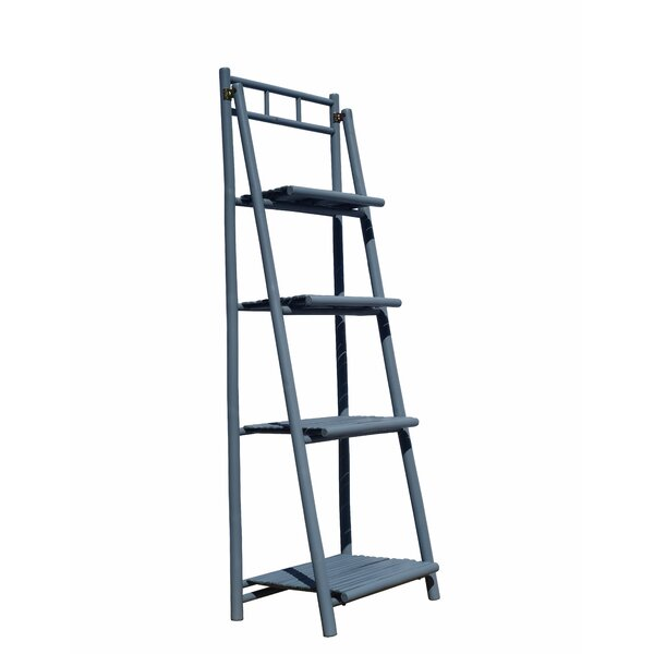 Jax 4 Tier Ladder Bookcase By Bay Isle Home