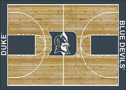 NCAA College Home Court Duke Novelty Rug by My Team by Milliken