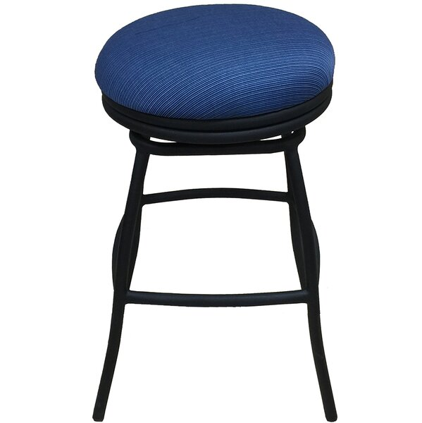 Bonnie 26 Patio Bar Stool with Cushion by Tobias Designs