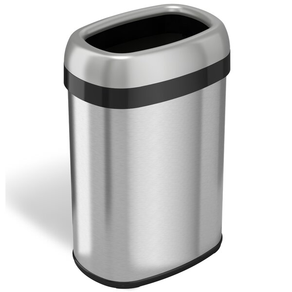Dual-Deodorizer 13 Gallon Trash Can by Rebrilliant