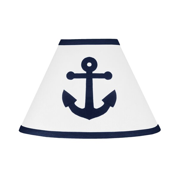 Anchors Away 7 Cotton Empire Lamp Shade by Sweet Jojo Designs