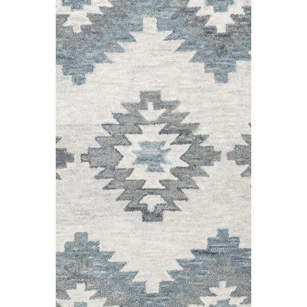 Brandon Gray Hand-Woven Wool Area Rug by Birch Lane™