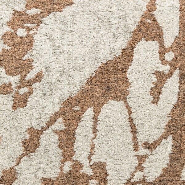 Jewel Hand-Tufted Beige/Brown Area Rug by Latitude Run