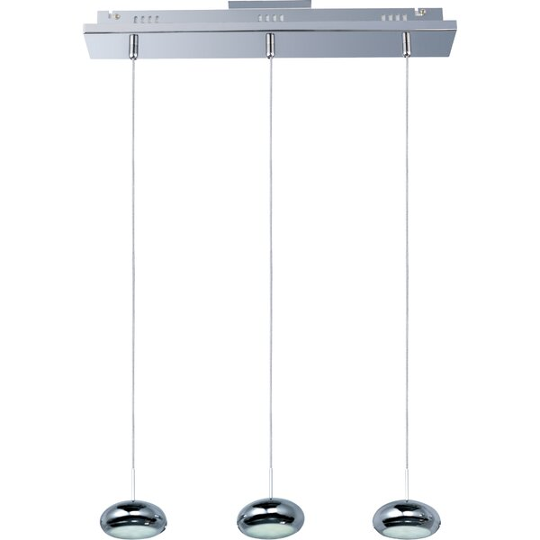 Ceres 3-Light Kitchen Island Pendant by Orren Ellis