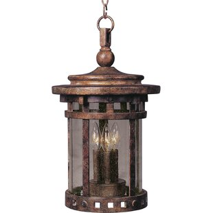 Great choice Bismark 3-Light Outdoor Hanging Lantern By Loon Peak