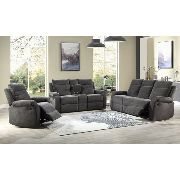 New Style Rolfe Reclining Loveseat by Red Barrel Studio by Red Barrel Studio