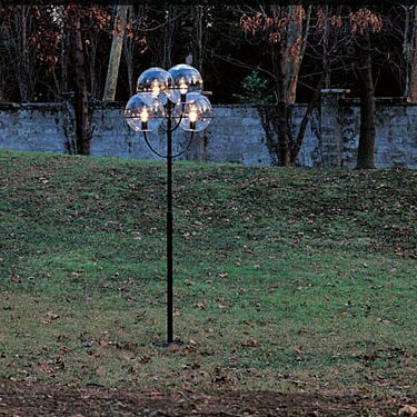 Lyndon Outdoor 4-Light 118 Post Light by Oluce